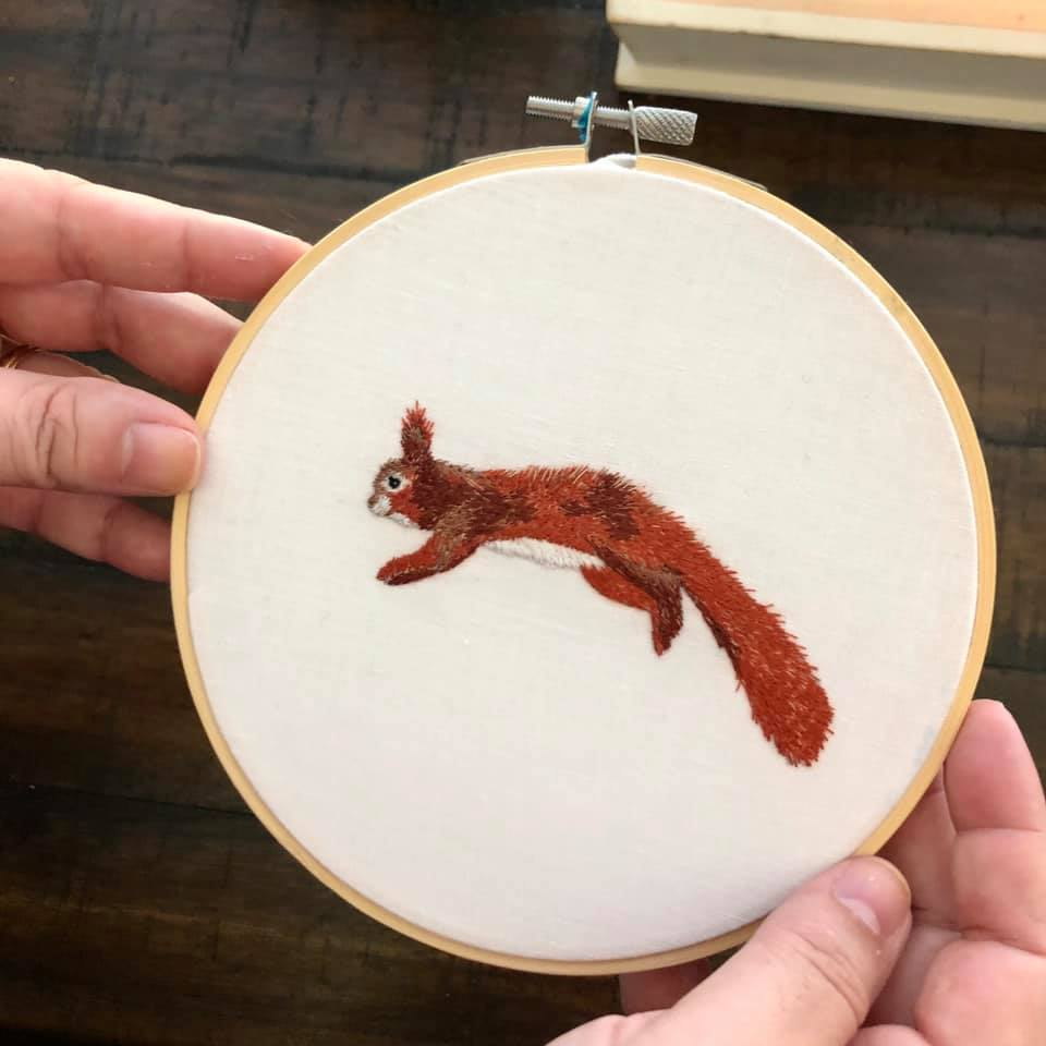 Finished Harry the Lil Red Squirrel